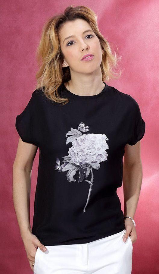 Цветок на блузку